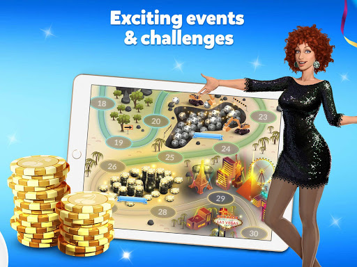 Vera Vegas - Huuuge Casino Jackpot & slot machines 4.7.40 screenshots 13