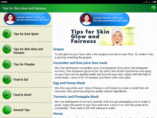 玩免費遊戲APP|下載Skin Care Beauty & Diet Tips app不用錢|硬是要APP
