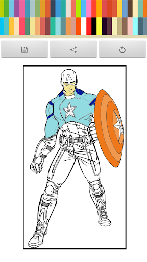 Captain Coloring in America