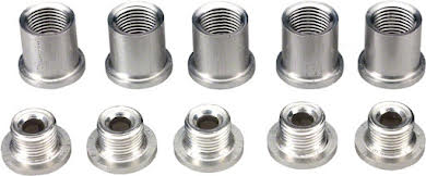 Problem Solvers 10mm Chainring Bolt Set with Alloy Hex Nut alternate image 0