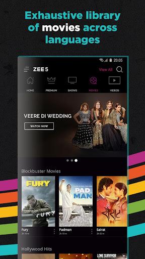 ZEE5 - Movies, TV Shows, LIVE TV & Originals – Apps on
