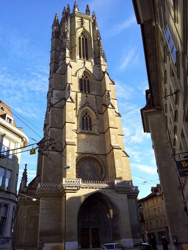 Cathédrale Saint-Nicolas à Fribourg