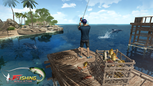 Code Triche Reel Fishing Simulator - Ace Fishing 2018  APK MOD (Astuce) screenshots 1
