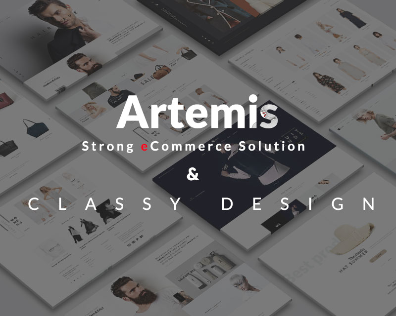 Artermis - WordPress woocommerce theme