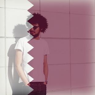 Qatar Flag On Face Maker : Photo Editor - náhled
