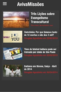 AvivaMissões - náhled