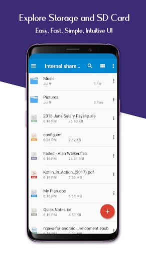 File Manager - Easy file explorer & file transfer 2.0.3 screenshots 2