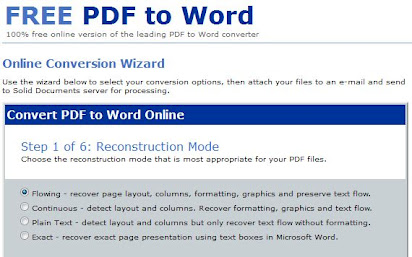 Pdf To Word Converter 100 Free >> Free Pdf Convert Doc Online