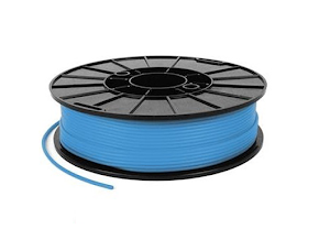 NinjaTek NinjaFlex Sky Blue TPE Filament - 3.00mm