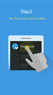 Touch Lock - disable screen and all keys Screenshot