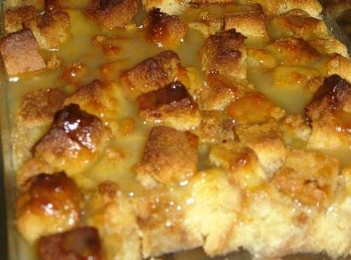 Cin's Bread Pudding W-sauce (photo By: Cinstraw)