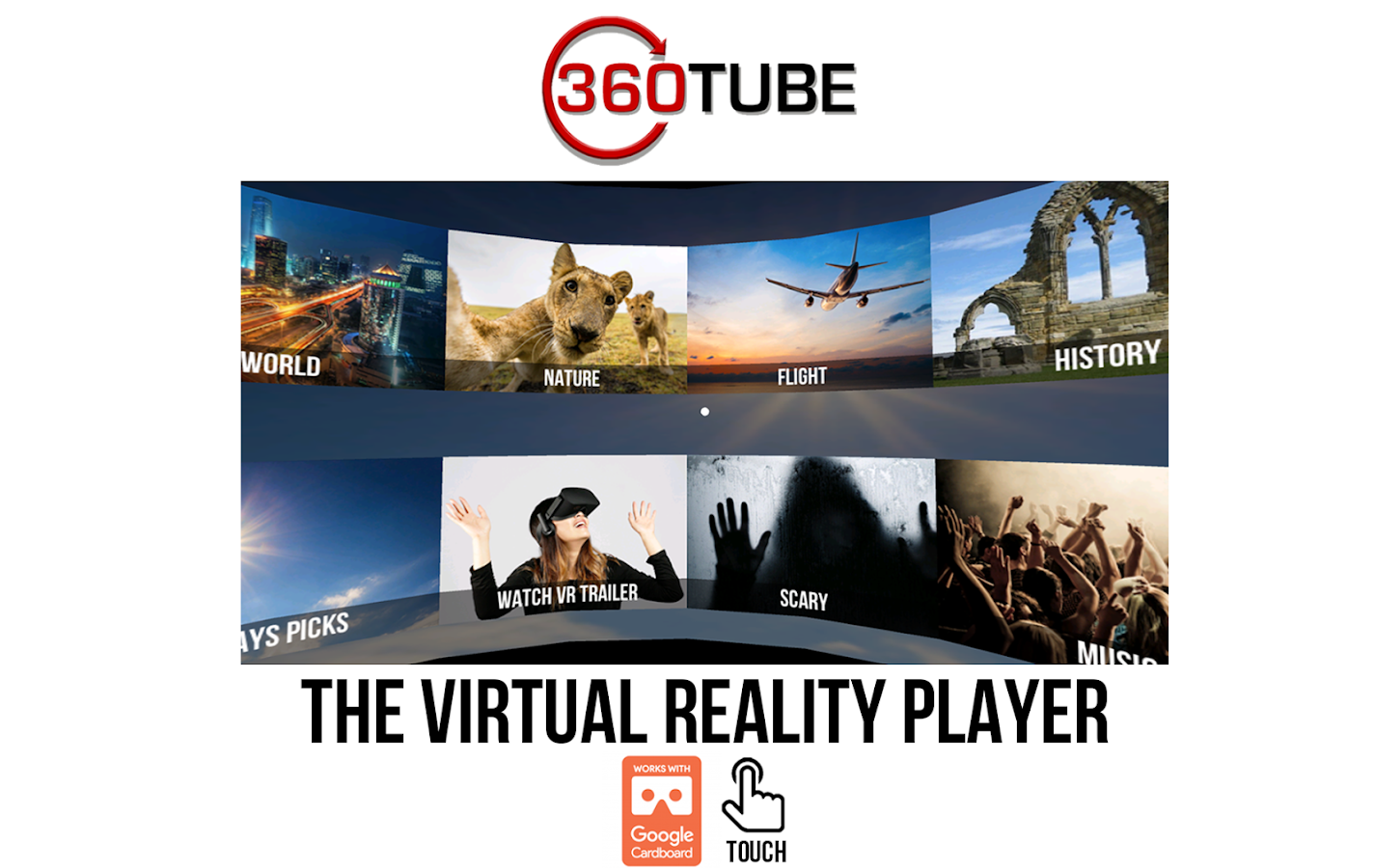 360TUBE–VR apps games & videos- screenshot