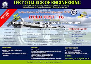 Photo: 112th National Level Technical Symposia (iTECH FEST '16') to be conducted on 24th sep 2016...