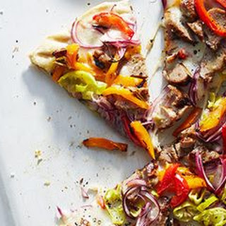 Grilled Sausage and Pepper Pizza Recipe