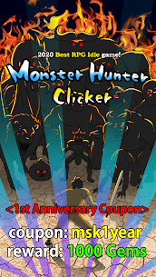 Monster Hunter Clicker : RPG Idle game Mod Apk Download For Android and Iphone 1
