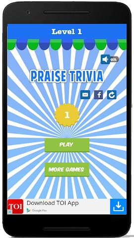 android Praise Trivia Screenshot 0