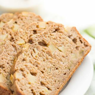 Healthy Cinnamon Apple Banana Bread.