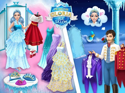Princess Gloria Ice Salon- screenshot thumbnail