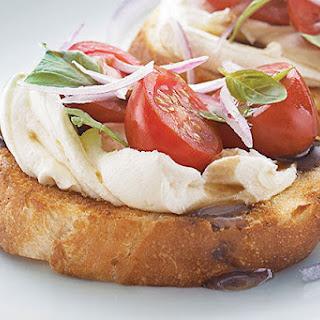 Tomato & Balsamic Bruschetta