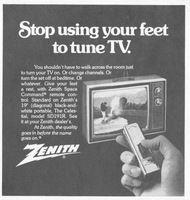 Tuning TV dengan remote
