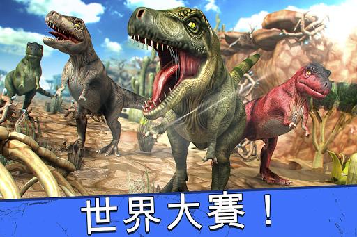 Jurassic Run - 恐龍 動物 賽跑 模擬器 遊戲