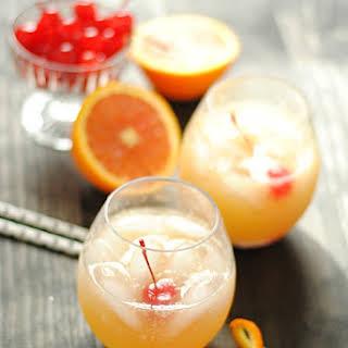 Orange Swizzle {non-alcoholic summer drink}.
