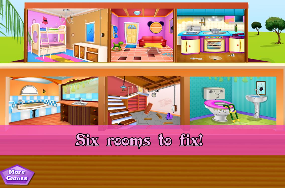 Repair and fix the house  screenshot. Repair and fix the house   Android Apps on Google Play