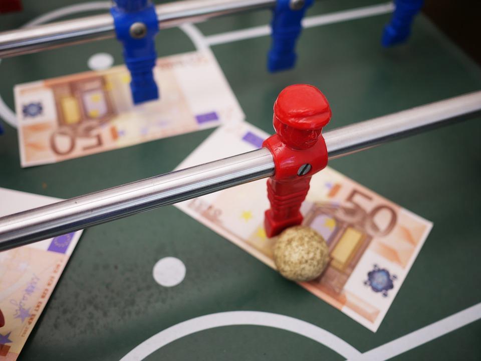 Deporte, Fútbol, Futbolín, Billete De Banco