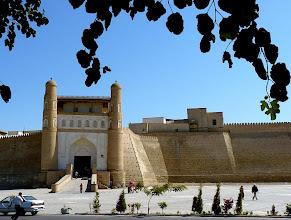 Photo: die Zitadelle Ark, befestigter Sitz der Herrscher von Buchara