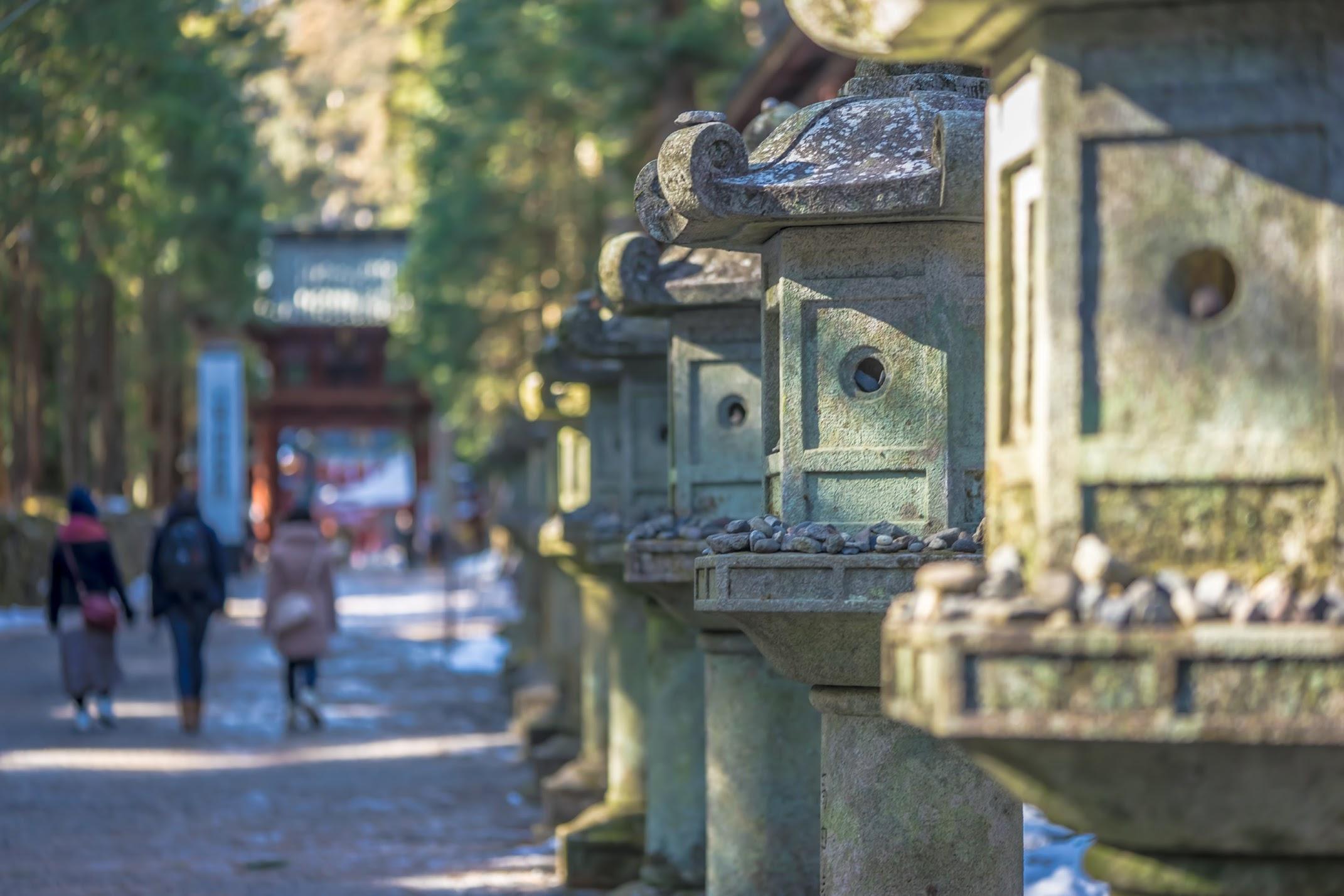 Nikko Futarasan-Jinja Shrine approach2
