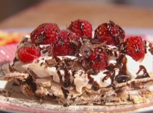 Chocolate Pavlova Recipe