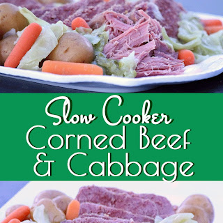 Slow Cooker Corned Beef & Cabbage.
