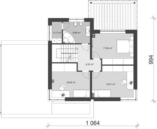 UA85 - Rzut piętra