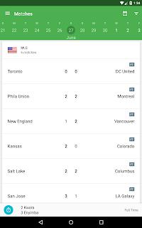 CrowdScores - Live Scores screenshot 06