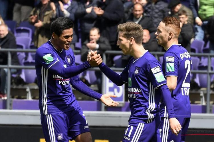 Dix Anderlechtois sortent enfin leur match référence face à un piètre Standard
