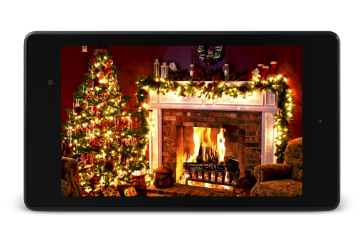 Christmas Fireplace LWP 1.0 screenshots 11