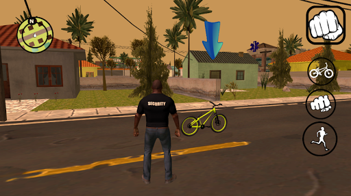 Vice gang bike vs grand zombie in Sun Andreas city 1.0 screenshots 1