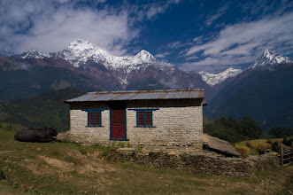 Photo: View near Ghandruk