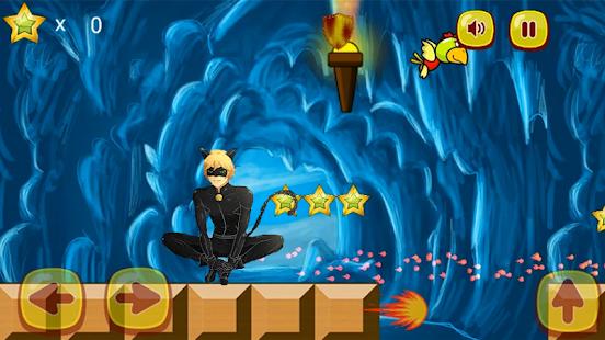 Cat Noir Miraculous Adventures Jungle Run - náhled