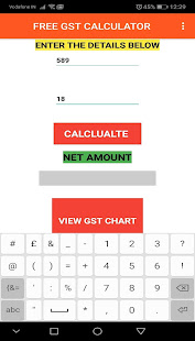 Download GST Calculator For PC Windows and Mac apk screenshot 4