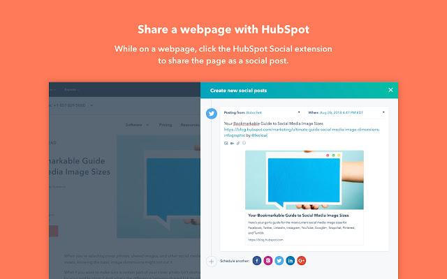 HubSpot Social