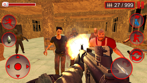 Death Zombie Invasion : Survival 3D  screenshots 1