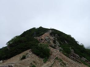 キャンプ場から針ノ木岳へ