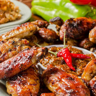 Extra Spicy Bbq Chicken Wings.