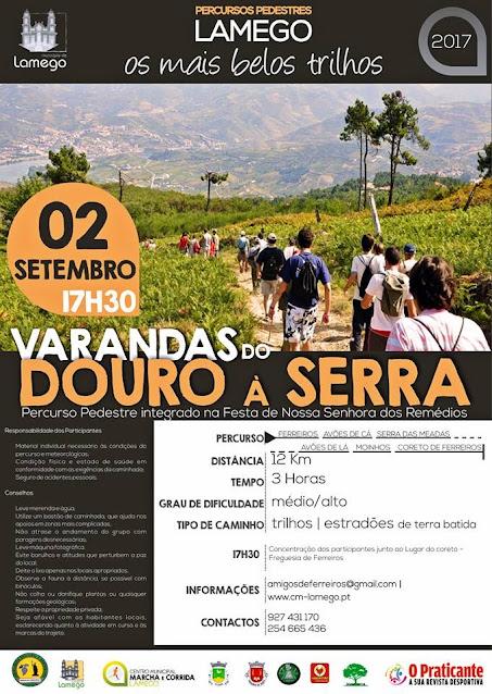 """""""Varandas do Douro à Serra"""" percorre 12 quilómetros"""