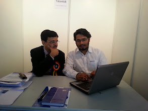 Photo: Mr Hitesh Buch Chairman WIRC getting the insights..