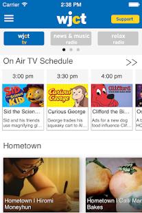 WJCT Public Broadcasting App - náhled