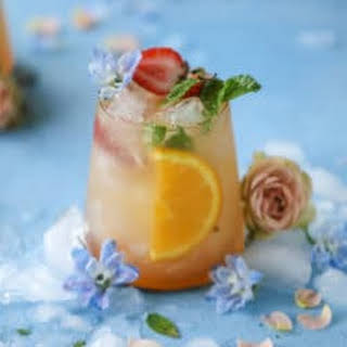 Minted Mimosa Punch.
