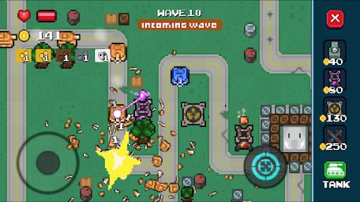 Tankuss - Retro Tower Defense Game  captures d'u00e9cran 1