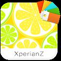 XperianZ™ Lemon & lime theme icon